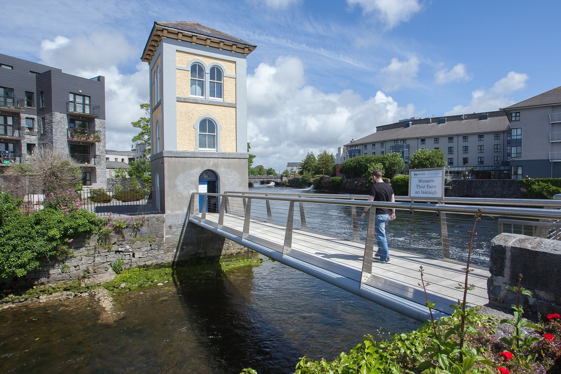 Fishery Watch Tower Museum in Galway City