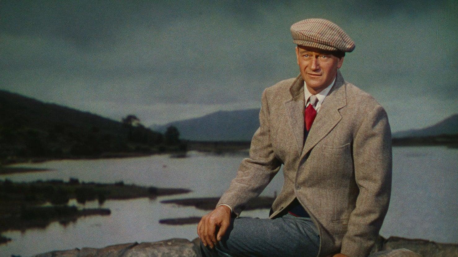 John Wayne on the Quiet Man Bridge - Visit Galway