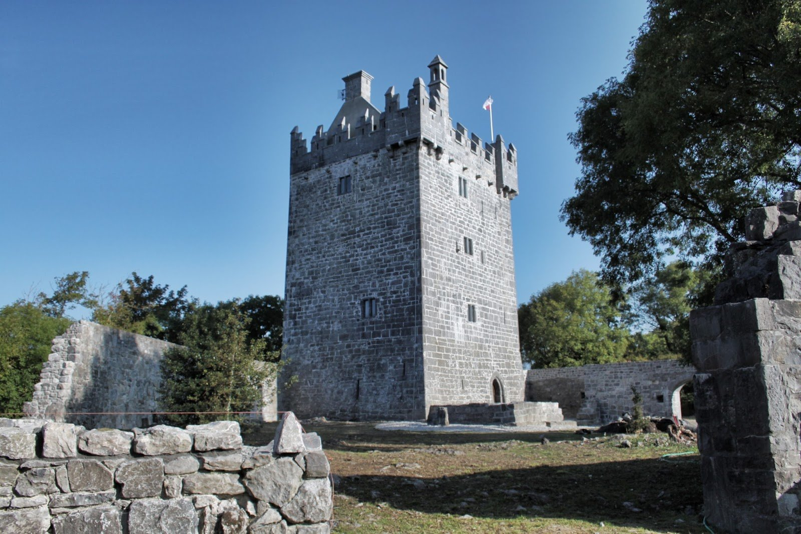 Annaghdown Castle on Shores of Lough Corrib - Visit Galway