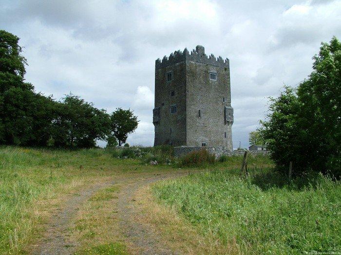 Ballinderry Castle Roadside - Visit Galway