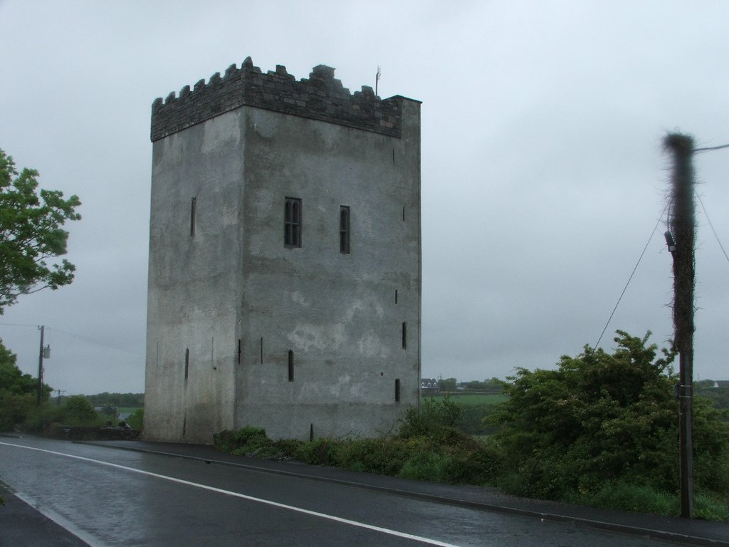 Ballindooley Castle From The Roadside - Visit Galway