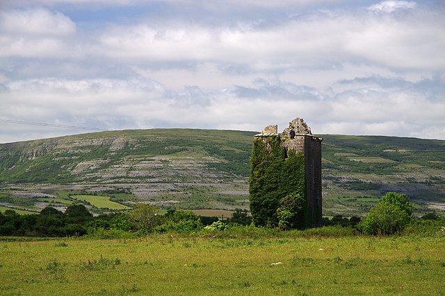 Cahererillan Castle in The Burren - Visit Galway