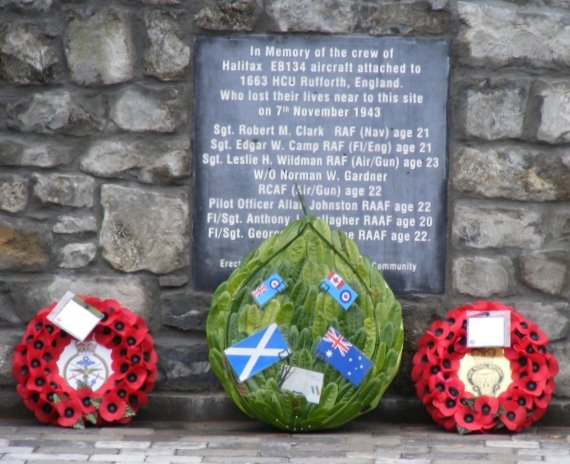 Halifax EB134 Monument - Visit Galway