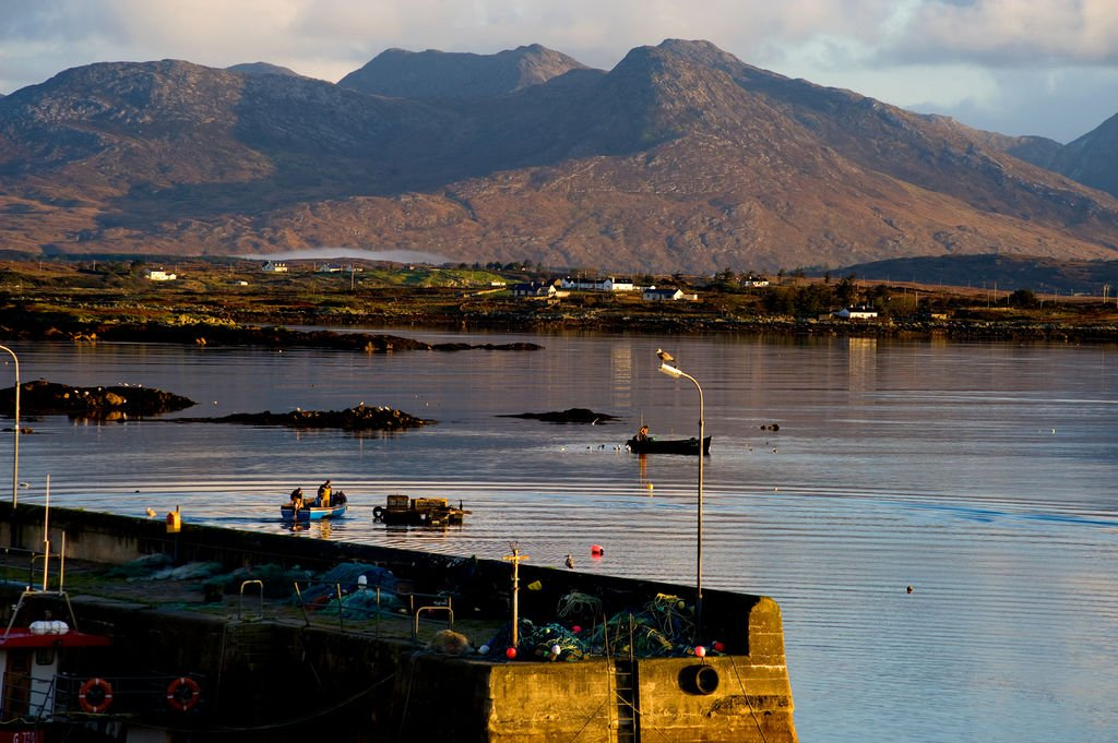 Roundstone Harbour Viewpoint - Visit Galway