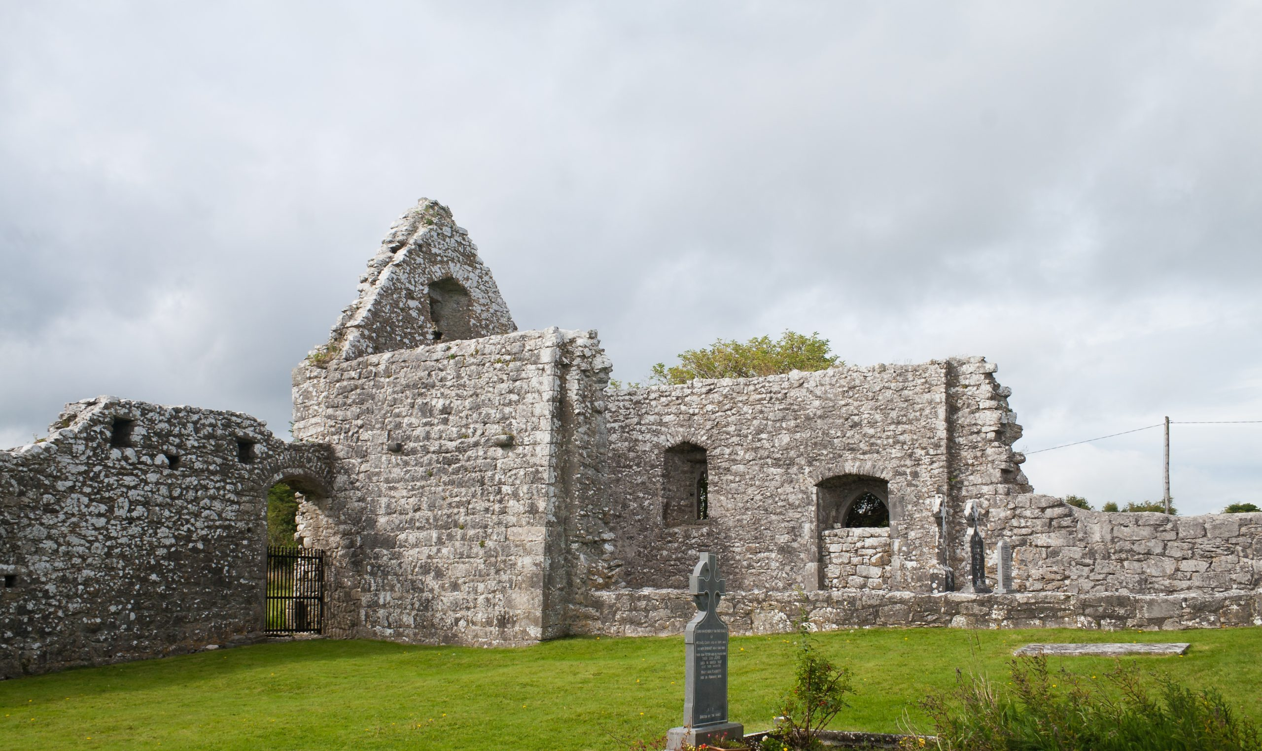 Annaghdown Abbey of St. Mary in Galway - Visit Galway