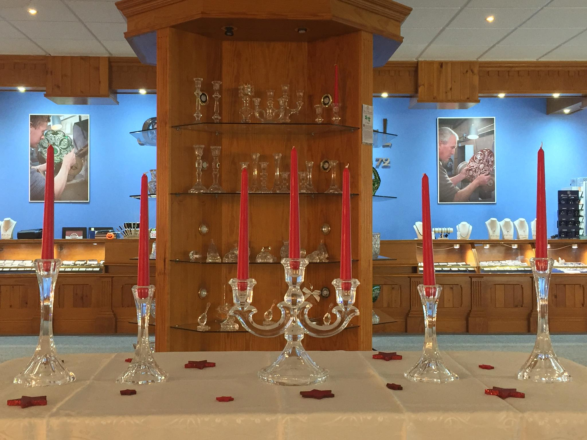 Celtic Crystal Visitor Centre Finished Products - Visit Galway