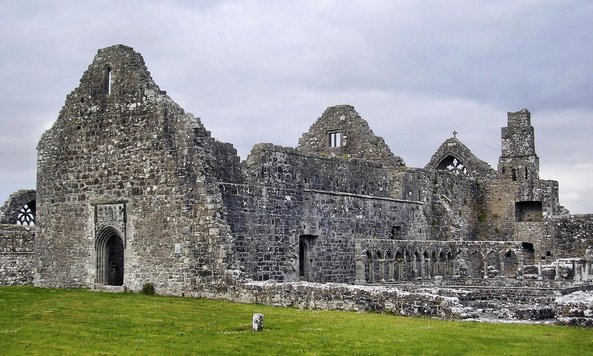 Clontuskert Augustinian Friary Galway Ireland - Visit Galway