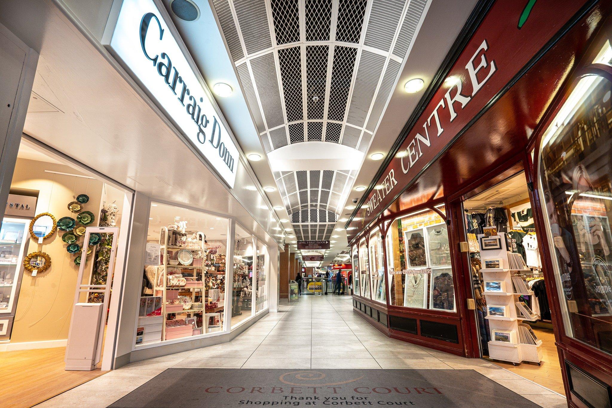 Corbett Court Shopping Centre in Galway - Visit Galway