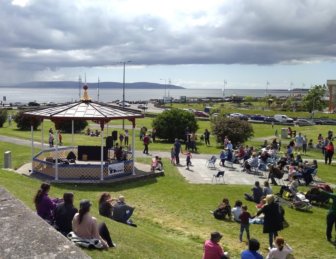 Crowd at Salthill Bandstand - Visit Galway