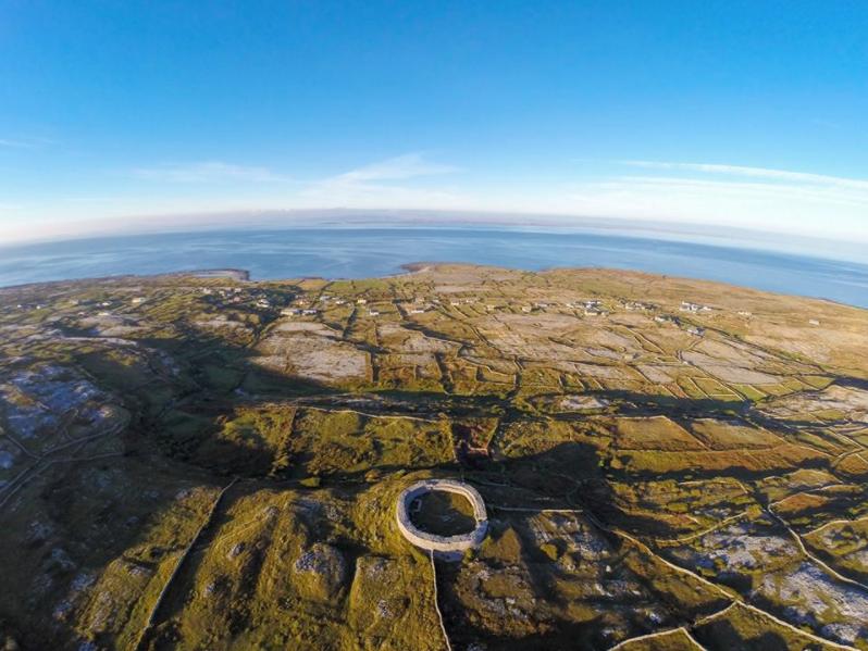 Dún Eoghanachta Aerial Photo - Visit Galway