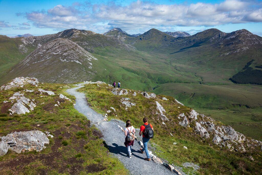 Diamond Hill Loop Walk Connemara National Park Galway - Visit Galway