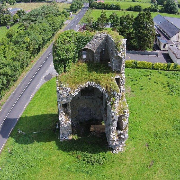 Garbally Castle Aerial Photo - Visit Galway