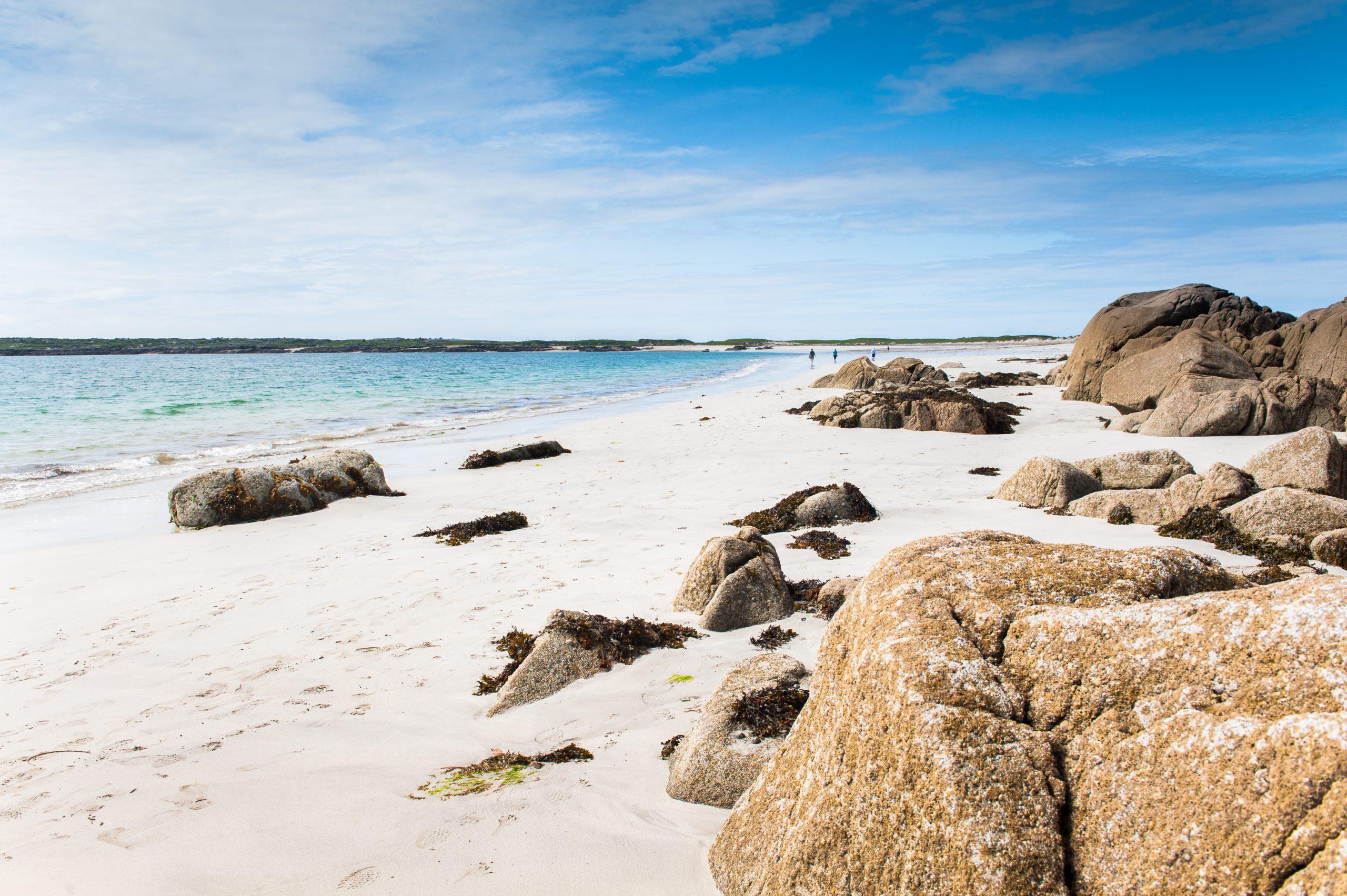 Gurteen Bay Beach in Connemara - Visit Galway