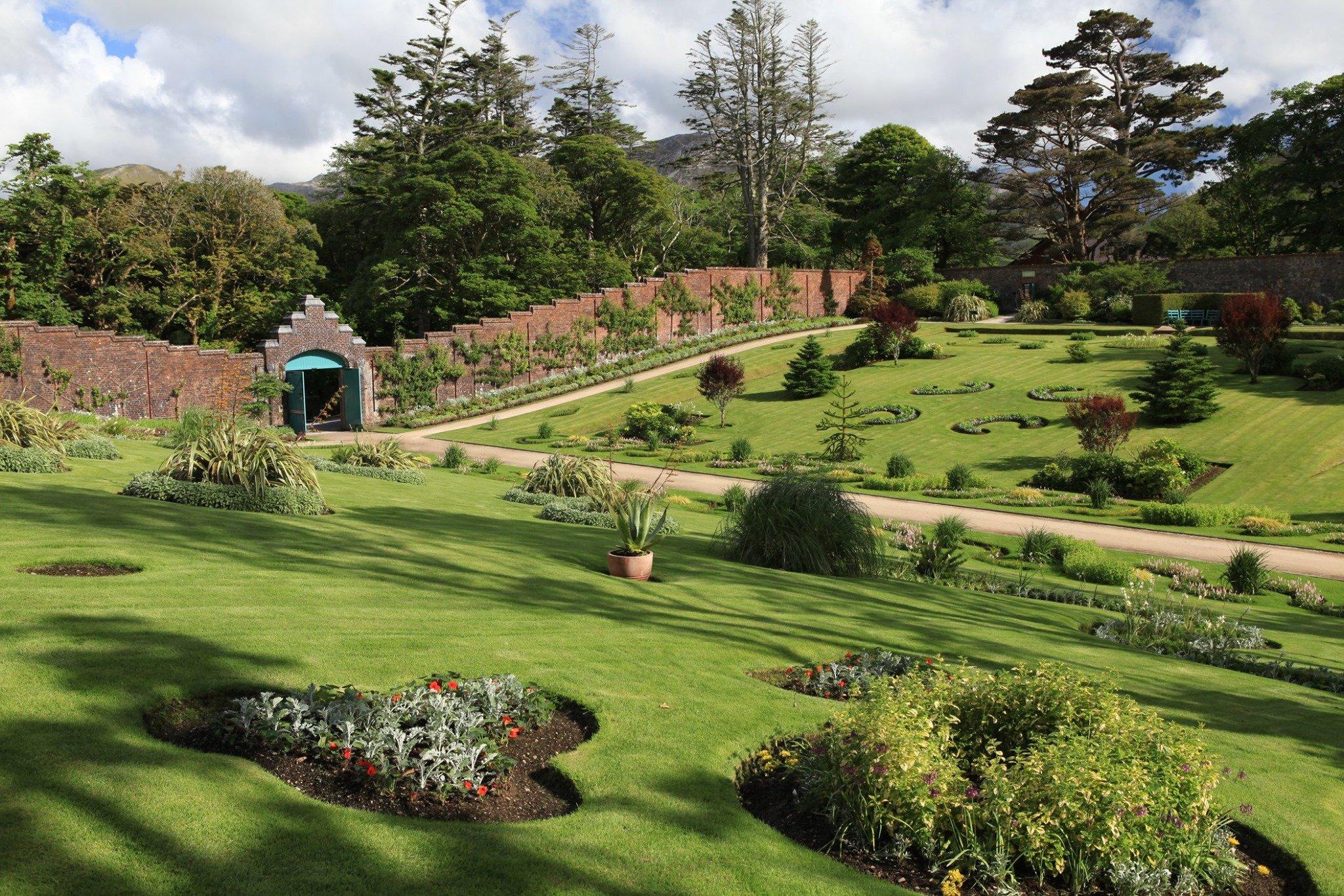Kylemore Abbey Victorian Walled Garden Connemara Galway - Visit Galway