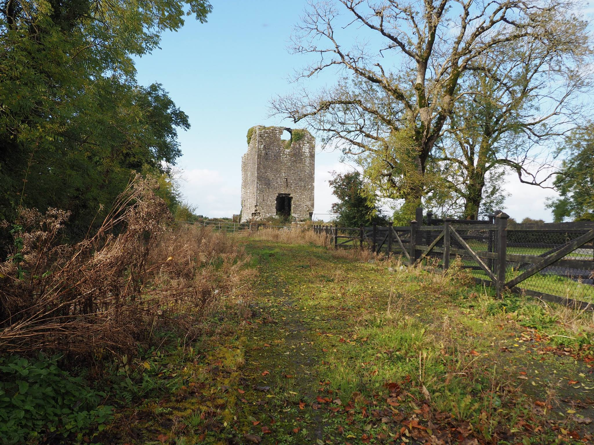 Lackagh Castle Roadway - Visit Galway