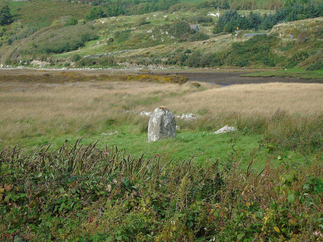 Letterdeen Standing Stone Galway - Visit Galway