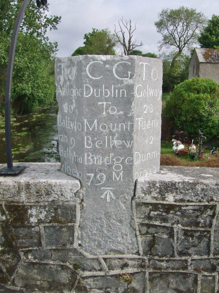 Mountbellew Milepost - Visit Galway