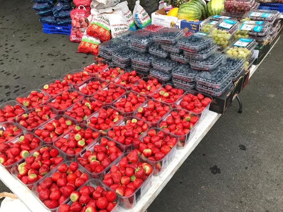 Moycullen Market Fruit - Visit Galway