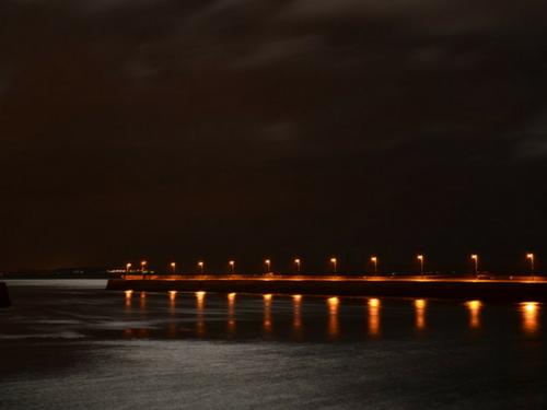 Nimmo's Pier at Night - Visit Galway