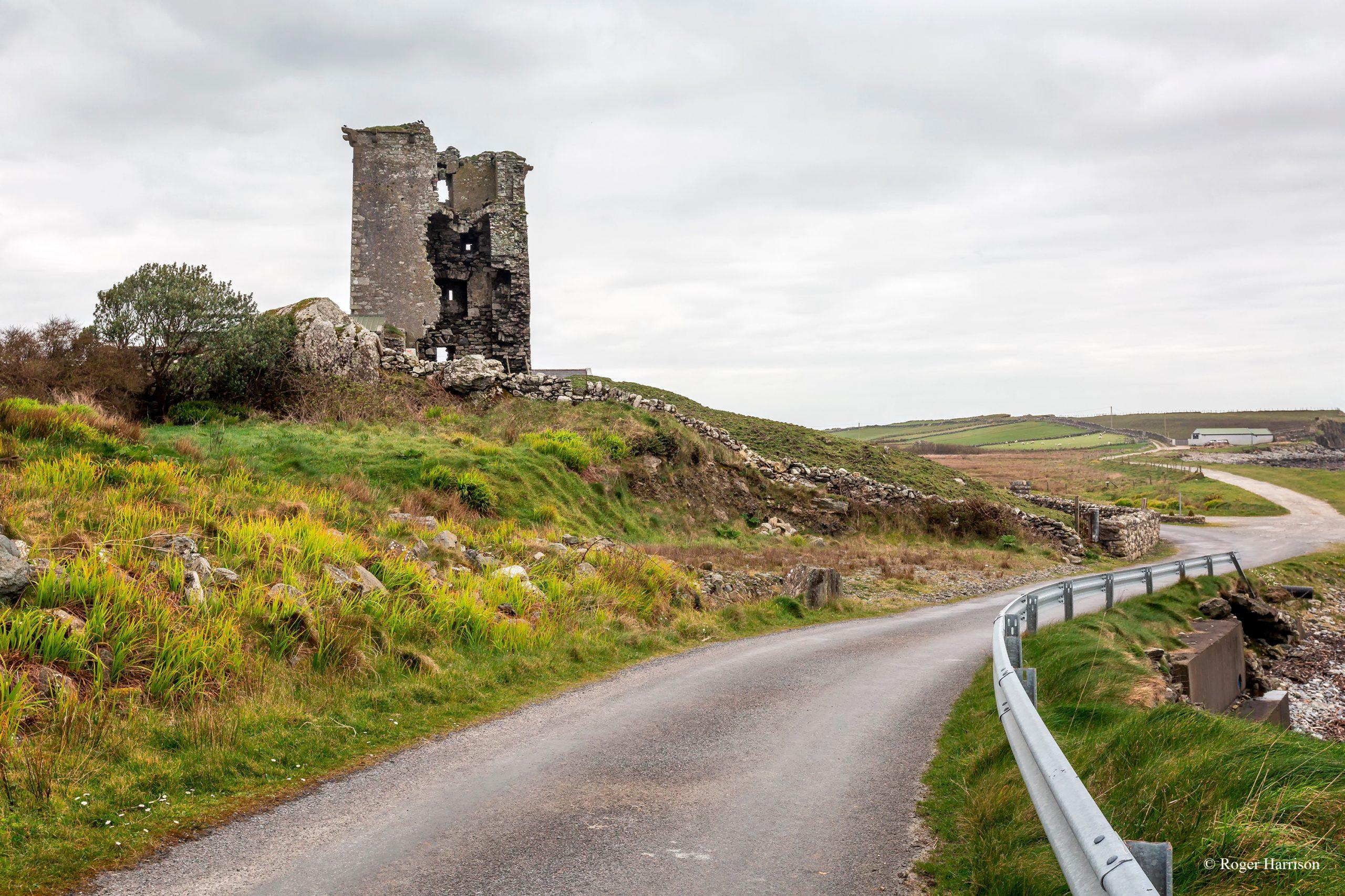 Renvyle Castle Ruin in Connemara - Visit Galway