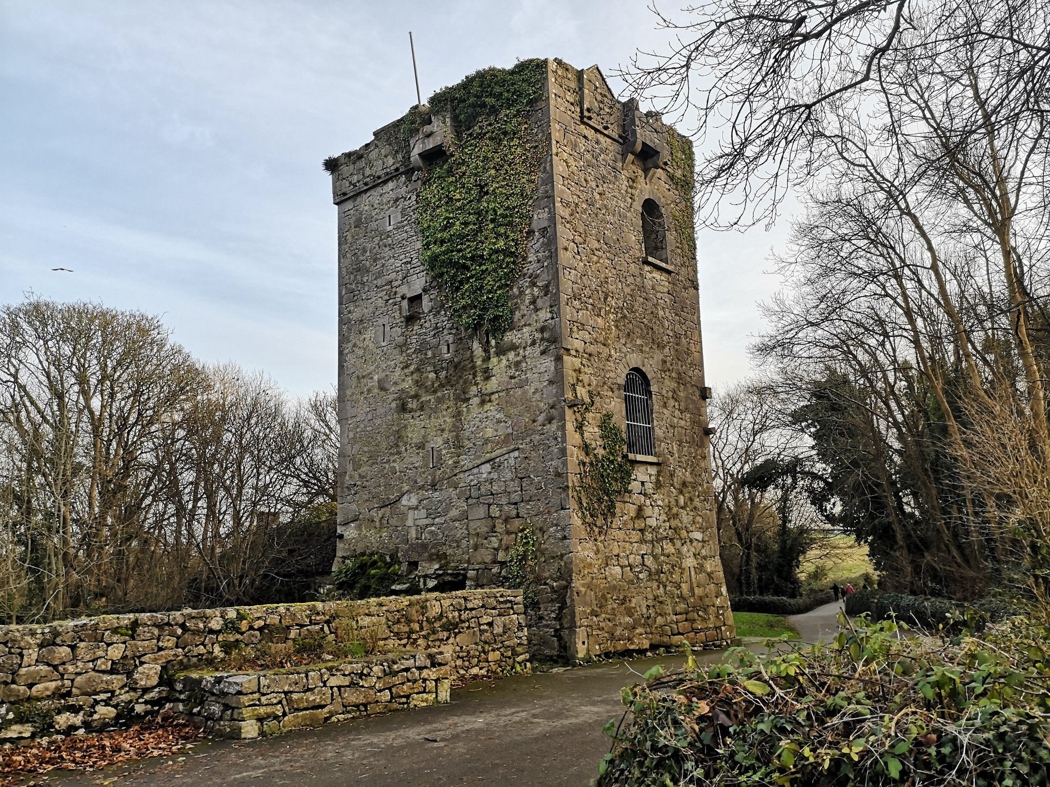Rinville Park Castle - Visit Galway