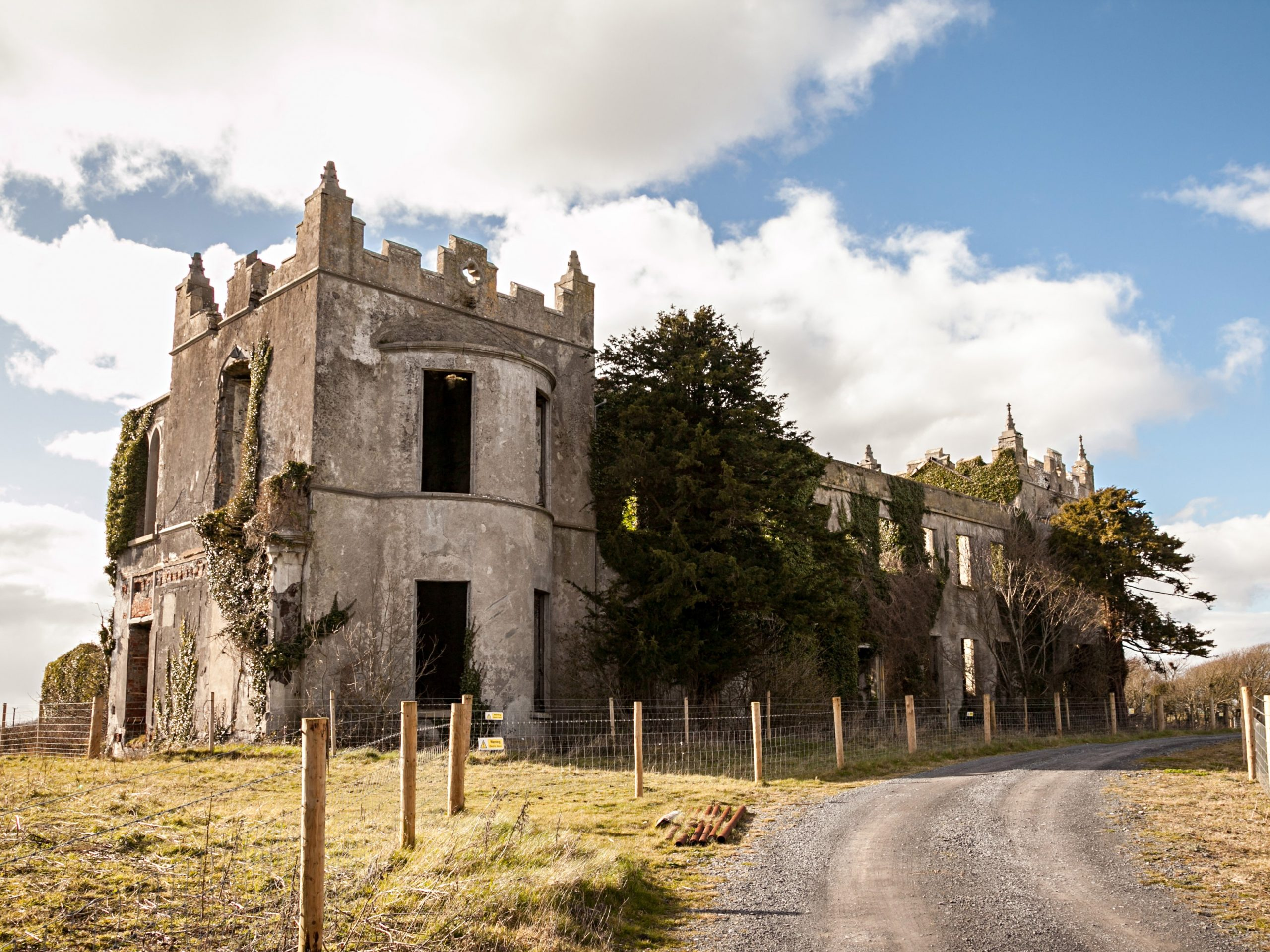 Ruins of Ardfry House - Visit Galway
