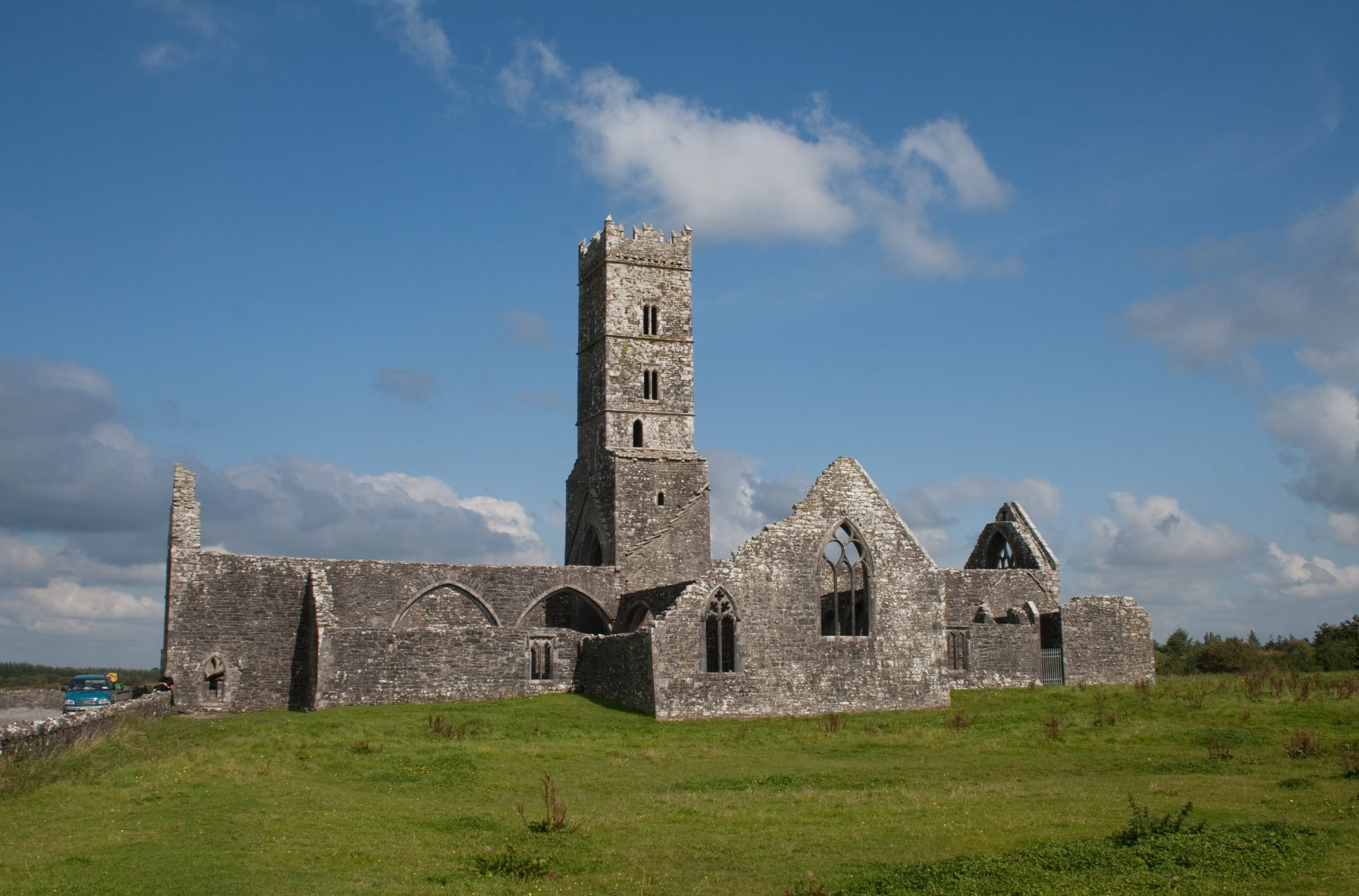 Ruins of Kilconnell Franciscan Friary - Visit Galway