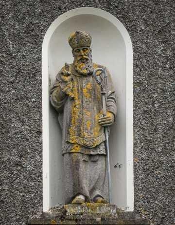 St. Jarlath Statue Galway - Visit Galway