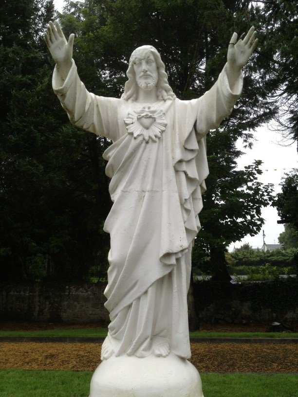 Statues at St. Jarlath's College Tuam - Visit Galway