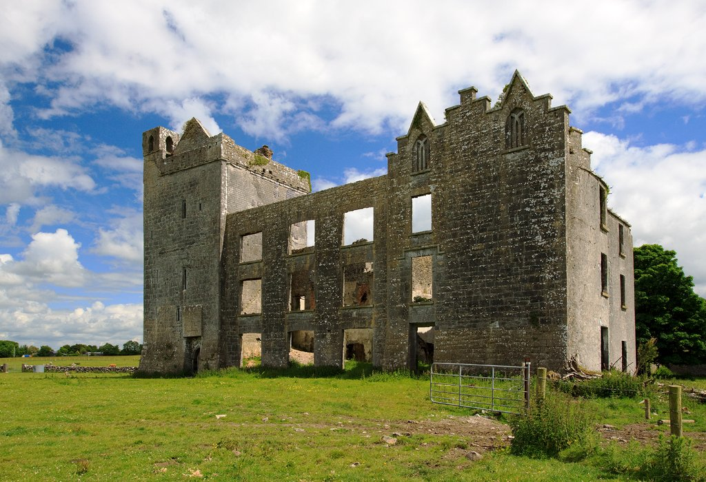 Taylor Castle Doorway - Visit Galway